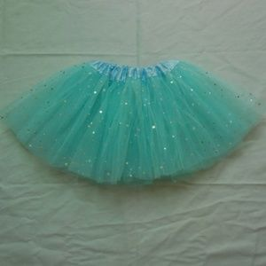 Other - star glitter dance tutu skirt sequin with 3 layers